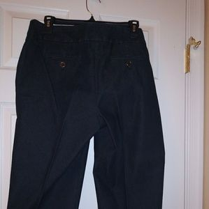 Denim Crop Denim Pants
